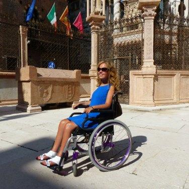Valentina Bazzano alle Arche scaligere di Verona
