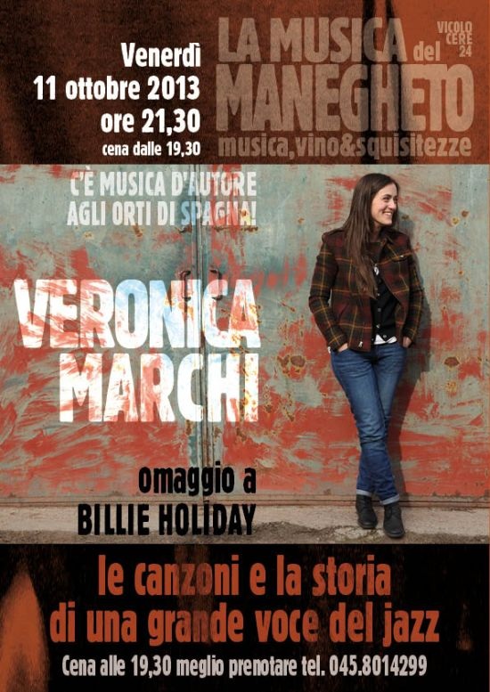 veronica marchi billie holiday concerto manegheto verona