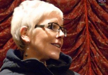 Sandra Ceriani al Teatro Camploy di Verona dopo la rappresentazione di Pinocchio