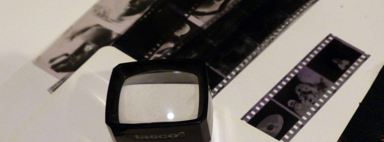 Negativi fotografici per la mostra di Maurizio Brenzoni