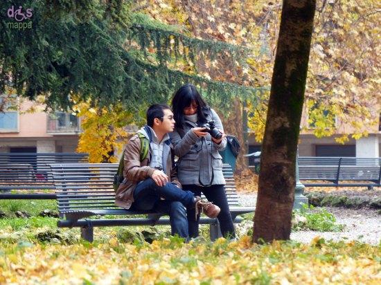 20131227 Turisti in Piazza Indipendenza Verona