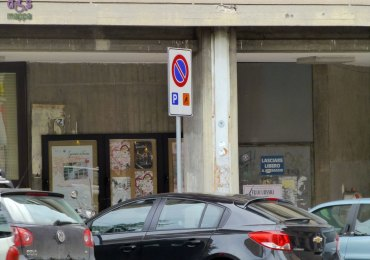 20130205 Parcheggio disabili anagrafe Verona