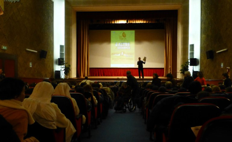 20130205 Premiazioni altresequenze disabili Cinema Stimate Verona