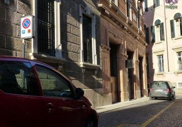 Parcheggio disabili via Filzi centro storico ztl Verona