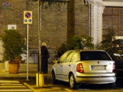 20140107 Parcheggio disabili  San Tomaso Verona
