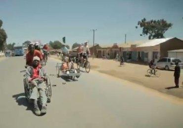 less is more tanzania handbike disabili