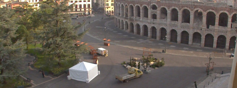 20140331 Verona in fiore Piazza Bra Arena