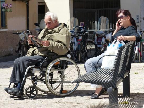 20140417 Letture carrozzina Piazza Isolo Verona