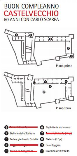 Castelvecchio 50 restauro Scarpa accessibile