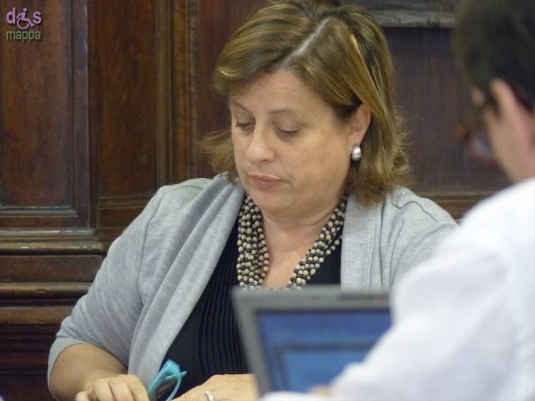Antonia Pavesi - Foto della conferenza stampa in Sala Arazzi, Comune di Verona, il 4 luglio 2014 di presentazione della rassegna di prosa e danza che si teàà nel mese di luglio al Teatro Camploy di Verona