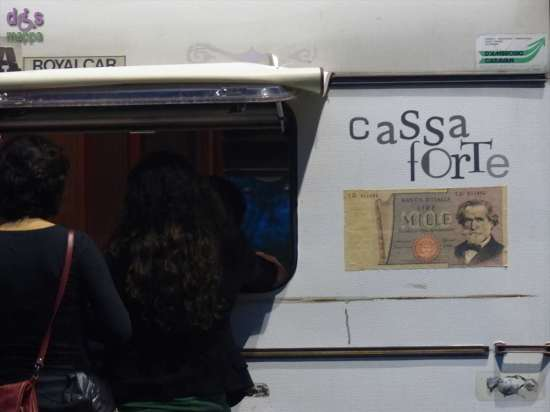 La roulotte cassa di operaForte, forte Santa Caterina Verona
