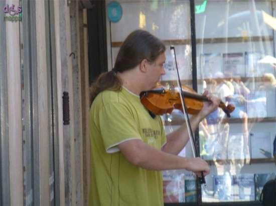 20140817 Musicista violino Verona