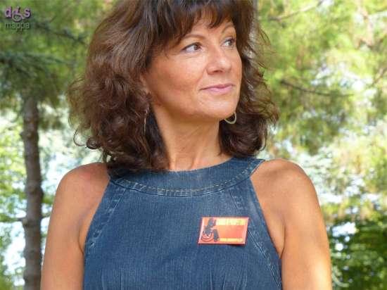 Cristina Ferretti testimone di accessibilità per dismappa a Verona Antiquaria