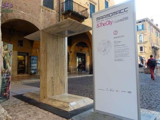 Indoccia di Massimiliano Caviasca (Caucci Marble) a Porta Borsari