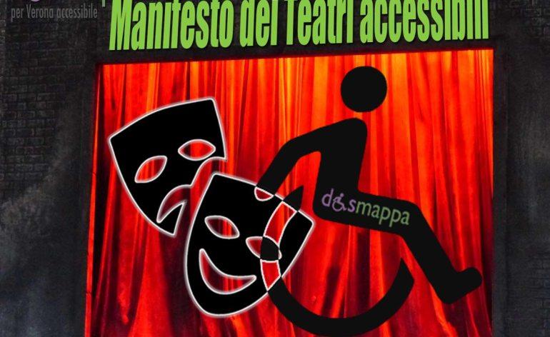 Su proposta dell'Associazione disMappa, e con la collaborazione dell'Assessorato Cultura e Pari Opportunità, i Teatri firmatari di questo Manifesto intendono promuovere le proprie attività artistiche e culturali rendendo più semplice la partecipazione del pubblico con disabilità