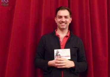 Il coreografo Matteo Levaggi testimone di accessibilità per dismappa dopo la presentazione della video monografia con Corpicrudi a TheatreArtVerona