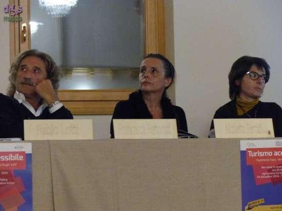 Nicoletta Ferrari, presidente Associazione Dismappa 'I luoghi accessibili di Verona' al convegno sul turismo accessibile