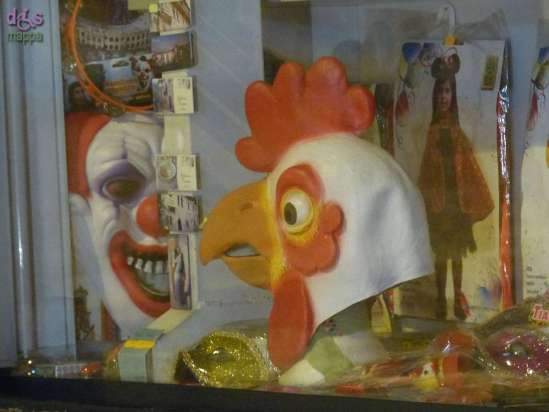 20150118 Maschere carnevale gallo clown Verona