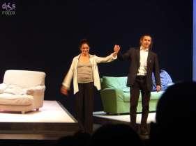 Tanti e meritati applausi per Chiara Caselli e Paolo Valerio al debutto veronese di Le ho mai raccontato del Vento del Nord al Teatro Nuovo