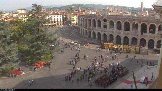 20150425 Festa liberazione messa Palazzo Barbieri Verona