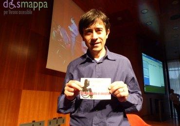 L'attore Luigi Lo Cascio testimone di accessibilità per dismappa, a Verona per il Festival della Bellezza