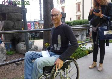 20150620 Ragazzo disabile carrozzina Teatro Romano Verona 89