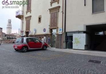 20150708 Parcheggio disabili Teatro Romano Verona accessibile dismappa