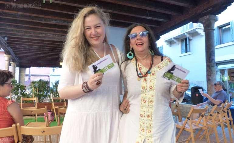 Le attrici Isabella Caserta (Teatro Laboratorio) e Cathy Marchand (Living Theatre) testimoni di accessibilità per dismappa di accessibilità per dismappa, hanno firmato assieme la regia di Mais ce n'est pas encore la nuit che debutta stasera al Teatro Laboratorio.