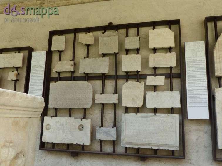 20150717 Museo Lapidario Maffeiano Verona accessibile dismappa 1061