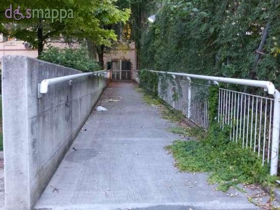 Rampa disabili retro Teatro Camploy di Verona