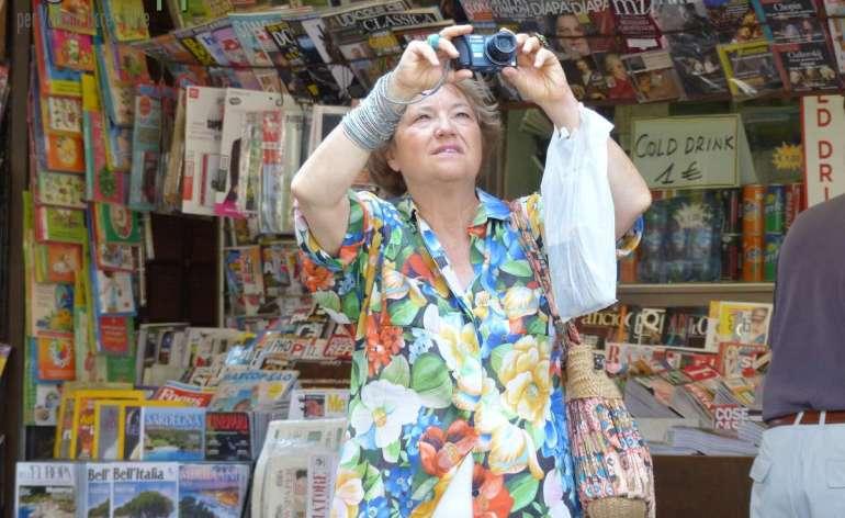20150731 Foto turista Piazza delle Erbe Verona dismappa
