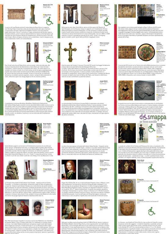 Le meraviglie del 2000. Collezione Stellatelli. ArtVerona al Museo di Castelvecchio. Le 8 opere (su 18) accessibili alle persone con disabilità in carrozzina