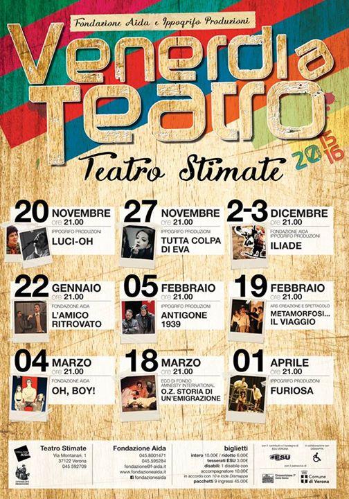 201511 VAT Venerdi a teatro Ippogrifo Verona