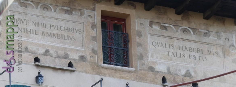 20160508 Iscrizioni latine palazzo Santo Stefano Verona dismappa