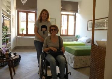Turismo accessibile, ospiti in carrozzina a casa dismappa a verona