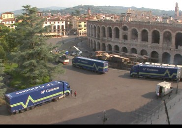 20160528 Concerto Adele Arena Verona trucks