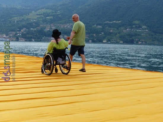 20160629 Christo Floating Piers Jeanne Claude Iseo disabili dismappa 1817