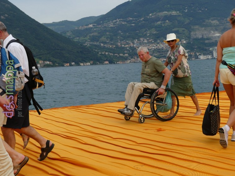 20160629 Christo Floating Piers Jeanne Claude Iseo disabili dismappa 735