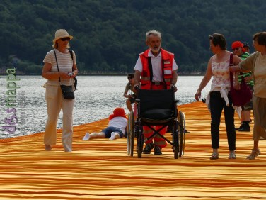 20160629 Christo Floating Piers Jeanne Claude Iseo disabili dismappa 777