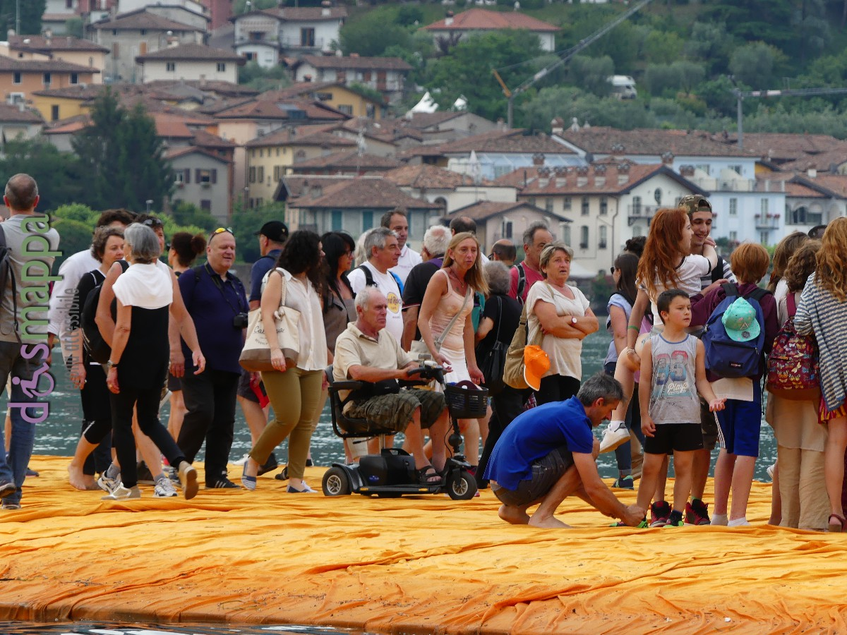 20160629 Christo Floating Piers Jeanne Claude Iseo dismappa 529