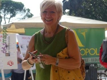 Assessore Anna Leso Festa del volontariato Verona