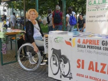 Gabriella Fermanti GALM Festa del volontariato Verona