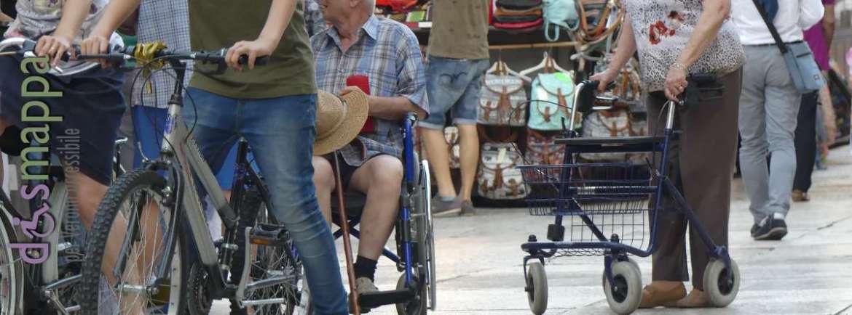 20170601 Disabili anziani bici Piazza Erbe dismappa