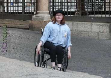 20170610 Turista disabile carrozzina Verona dismappa 533