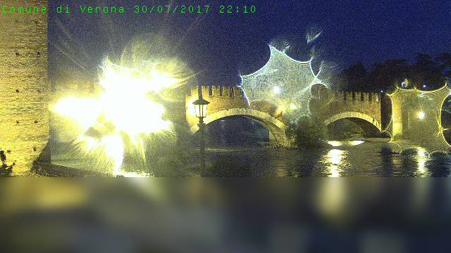 20170730 Ponte Castelvecchio pioggia webcam