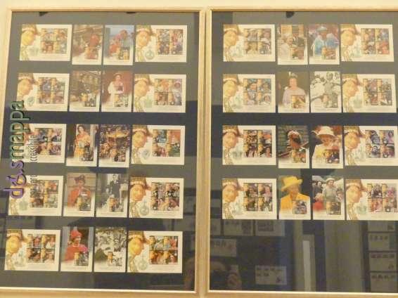 20170804 Stamps Queen Elisabeth II Verona dismappa 132