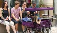 Bambini in carrozza