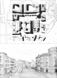 """Marco Ardielli e Fabrizio Quagini, """"Spazi ritrovati 2"""", Progetto vincitore 1997. Piazza Indipendenza a Verona."""