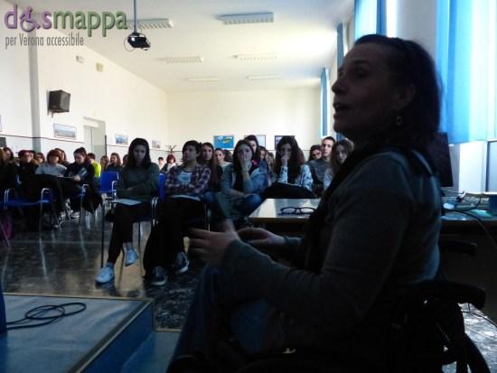 incontro per parlare di turismo accessibile, studenti eianudi dismappa verona