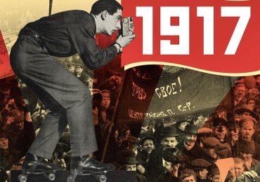 collage per il centenario della rivoluzione russa